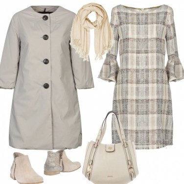 Outfit Il beige trend invernale