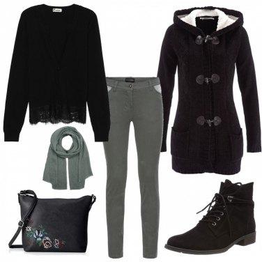 Outfit Nero e verdone