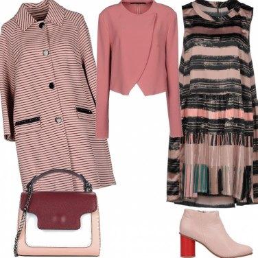Outfit Il vestito si porta con la giacca