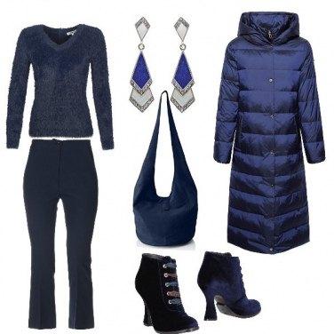 Outfit Tonalita di blue