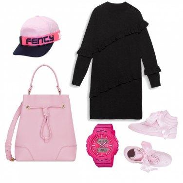 Outfit Rosa Furla
