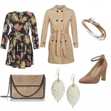 Outfit Trench di classe