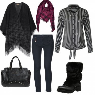 Outfit Nero schic