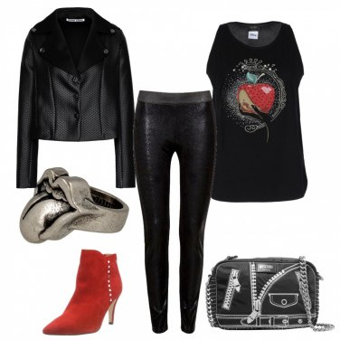 Outfit Kiss rock