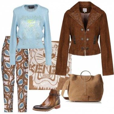 Outfit Giacca con ricamo