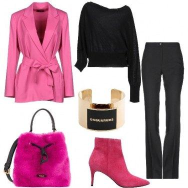 Outfit La borsa a secchiello