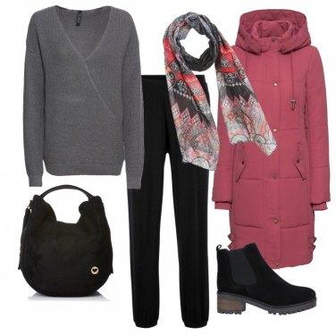 Outfit Il cappottino imbottito