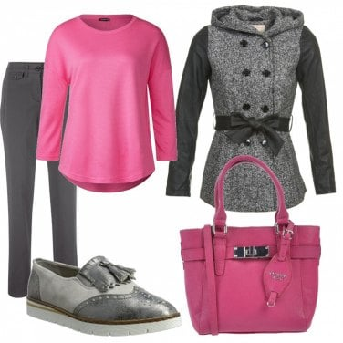Outfit Grigio colorato