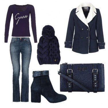 Outfit Urban in blue