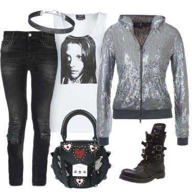 Outfit Rock girl