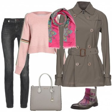 Outfit In un giorno di pioggia