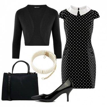 Outfit Pois Bon Ton