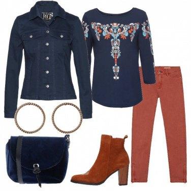 Outfit Soffio etnico