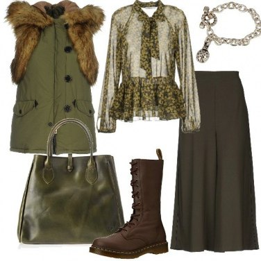 Outfit Mood militare