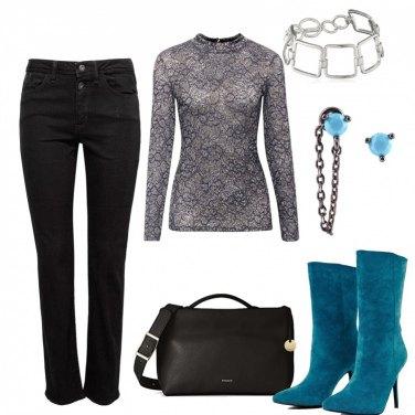 Outfit Azzurro che amore