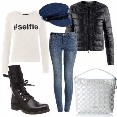Outfit Casual all\'università