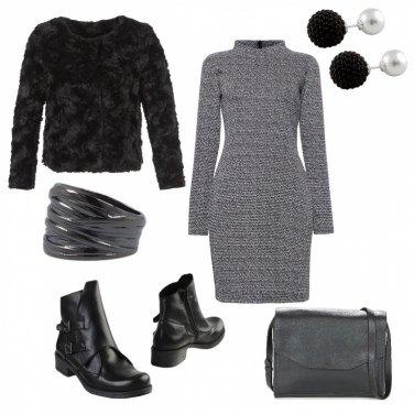 Outfit Abito e stivaletto