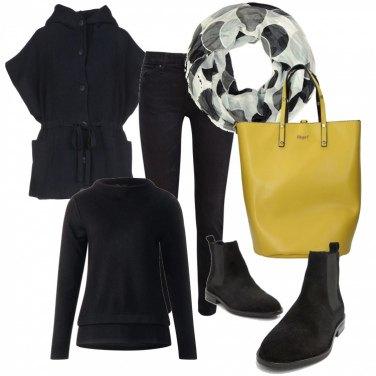 Outfit Nero Basic