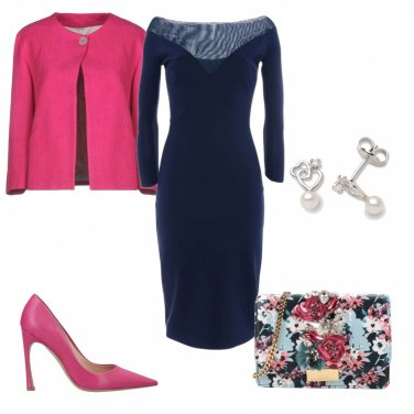 Outfit Splendida in blu might night