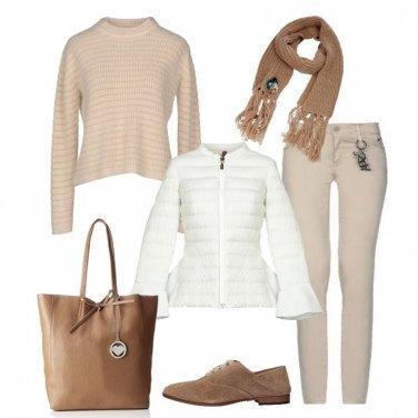 Outfit Piumino e stringate