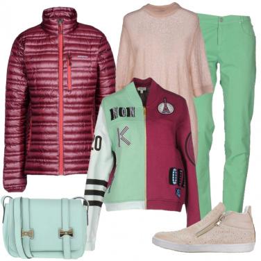Outfit I colori di febbraio