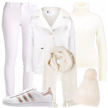 Outfit Un inverno in bianco