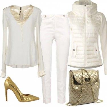 Outfit Oro protagonista in saldo