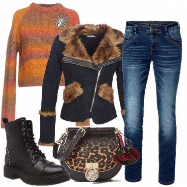 Outfit Con gli anfibi