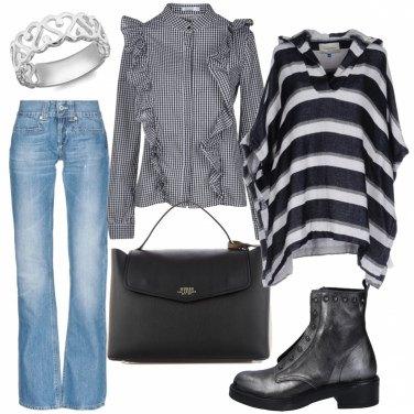 Outfit Righe e quadretti