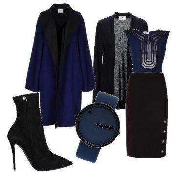 Outfit BluE details