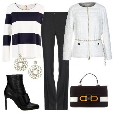 Outfit Piumino bianco