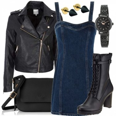 Outfit Rock\'n gold