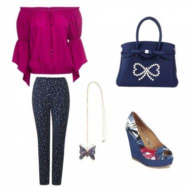 Outfit Chic e colorata