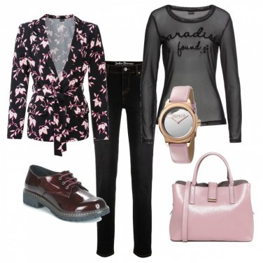 Outfit La giacchina fiorita