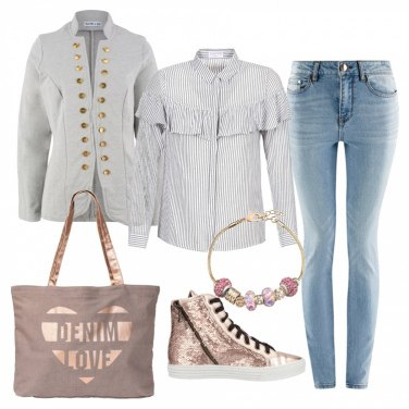 Outfit Denim love
