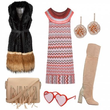Outfit \'70 con stile