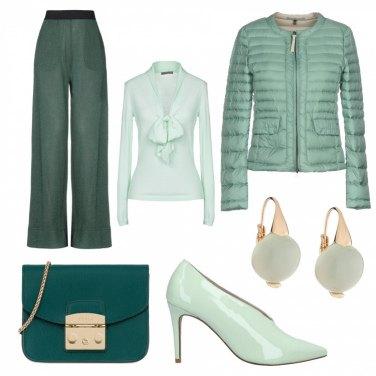 Outfit Verde acqua n°1