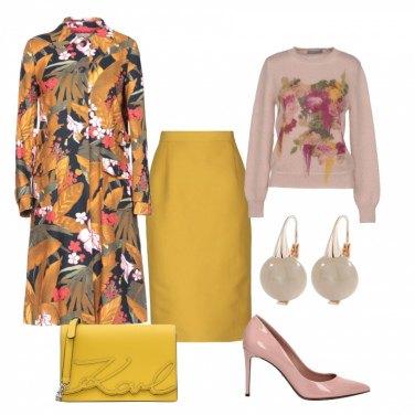 Outfit Capospalla floreale