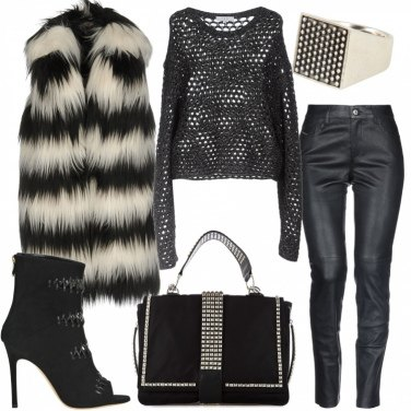 Outfit Rock con classe