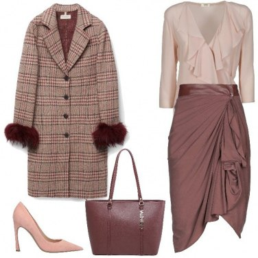 Outfit Ruches e drappeggi