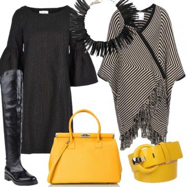 Outfit Un gessato di tendenza
