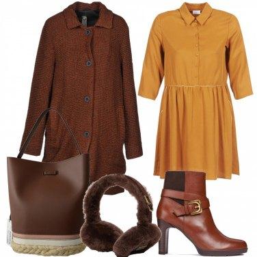 Outfit Vestito e tronchetto