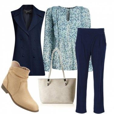 Outfit Un tocco di cielo