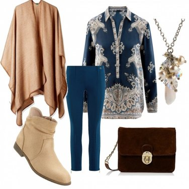 Outfit Color piombo