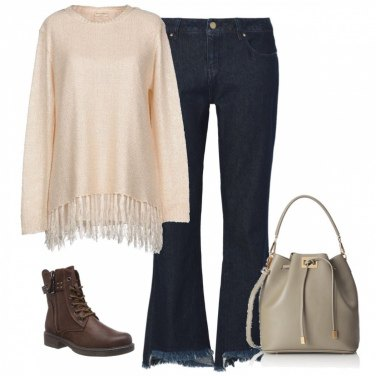 Outfit Anfibi e jeans