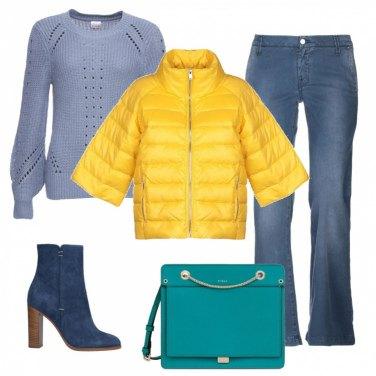Outfit La borsa turchese