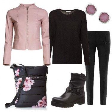 Outfit Fiori di loto
