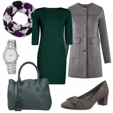 Outfit Verde low cost