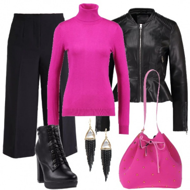 Outfit Pink shock