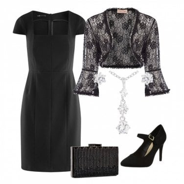 Outfit Cocktail brillante